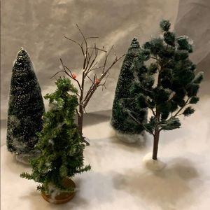5 - Department 56 accessory trees